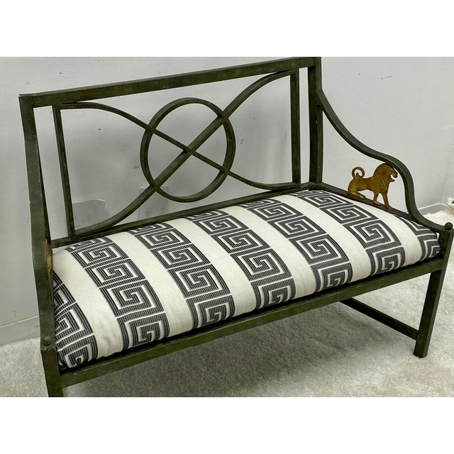 Pair of Neo-Classical Style Benches / Settees For Sale - Image 4 of 12