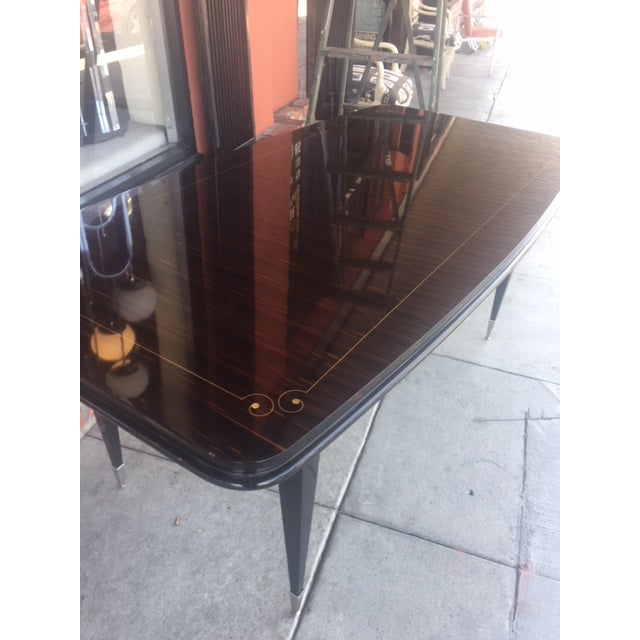 1940's French Deco Writing Table For Sale - Image 11 of 12