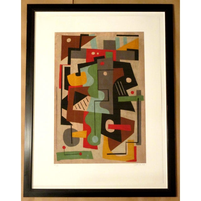 Framed Colorful Giclee Print - Image 2 of 2