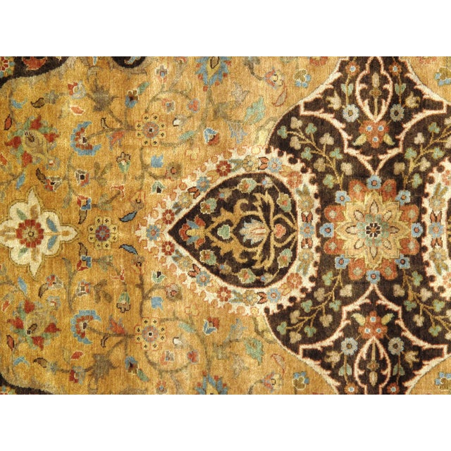 "Pasargad N Y Fine Serapi Design Hand-Knotted Rug - 7'10"" X 9'6"" For Sale - Image 4 of 6"
