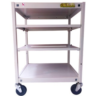 Vintage Multi-Function Metal Cart For Sale
