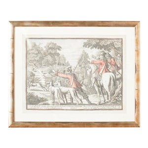 Deere Hunt Reproduction Print For Sale