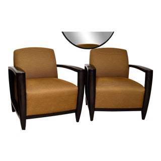 Andrew Gower for David Edward Chairs - A Pair For Sale