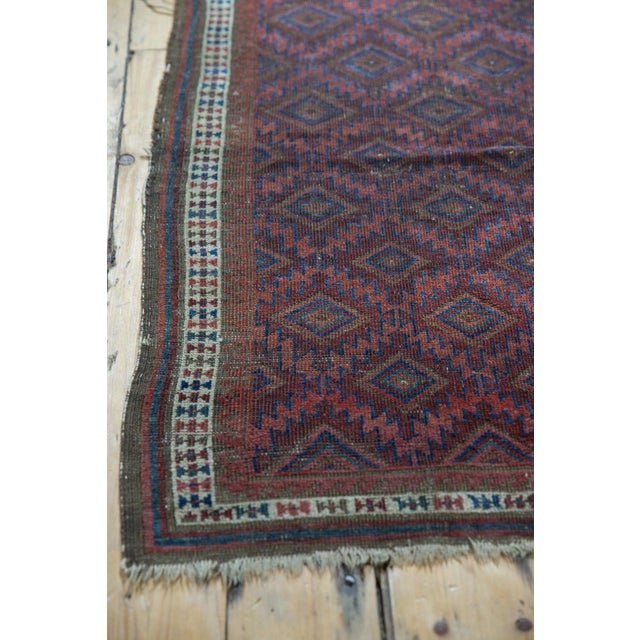 """Old New House Antique Belouch Rug - 2'5"""" X 3'9"""" For Sale - Image 4 of 11"""