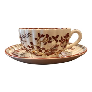 Spode Indian Tree Tea Cup and Saucer For Sale