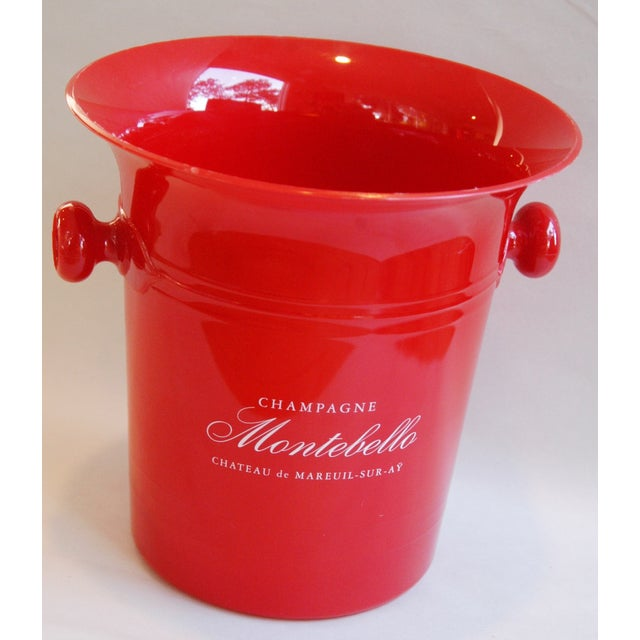 Vintage French Montebello Ice Bucket For Sale - Image 5 of 7