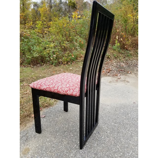 Wood S.P.A Tonon Italian Modern Dining Chairs - Set of 10 For Sale - Image 7 of 13