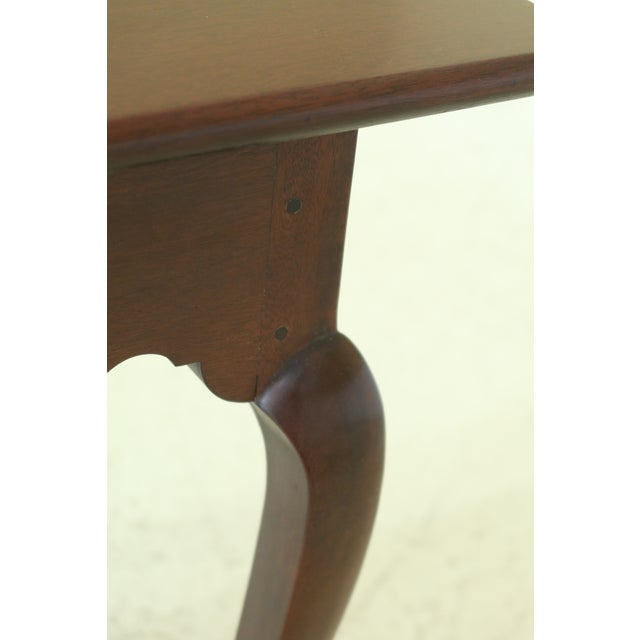 Stickley Colonial Williamsburg Drop Side Mahogany Table For Sale - Image 9 of 11