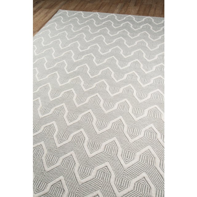 Erin Gates by Momeni Langdon Prince Grey Hand Woven Wool Area Rug - 8′6″ × 11′6″ - Image 2 of 7