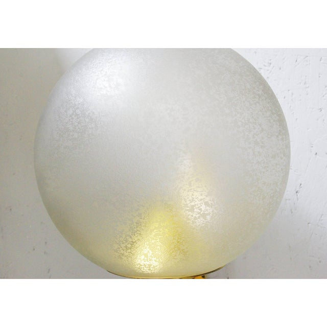 Five Large Globe Sconces by Seguso For Sale - Image 10 of 12
