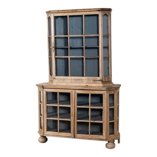 Early 19th Century Dutch Display Cabinet For Sale