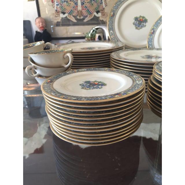 5-Piece Lenox Autumn China Setting- Set of 12 - Image 3 of 11