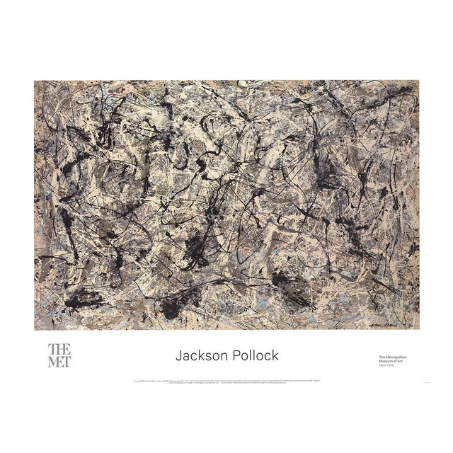 Jackson Pollock, Number 28, 2016, Edition: 1000, Offset Lithograph For Sale