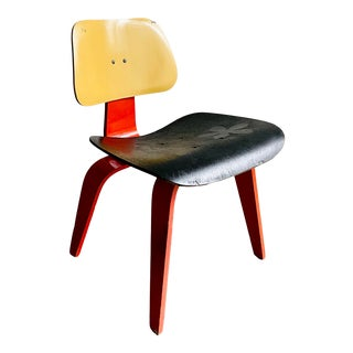 Mid-Century Eames Style Side Chair For Sale