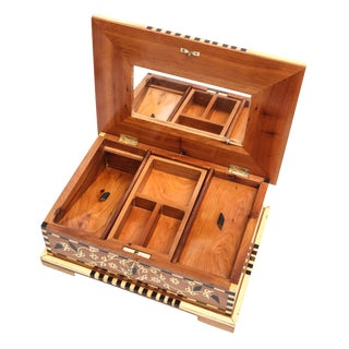 Thuya Burlwood Queen Jewelry Box For Sale