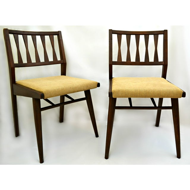 Holman Danish Modern Dining Room Chairs - Pair - Image 3 of 8