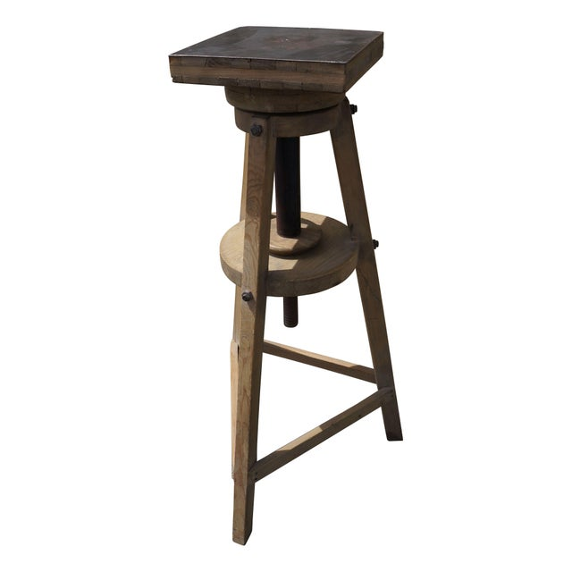 Antique European Survey Stand - Image 1 of 3