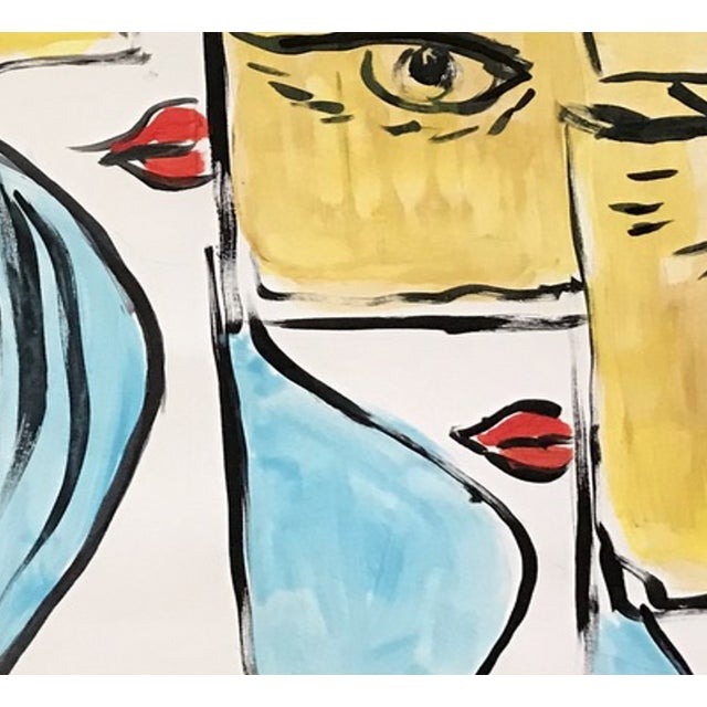 Pop Art Fashion Pop Art Painting by Tony For Sale - Image 3 of 4