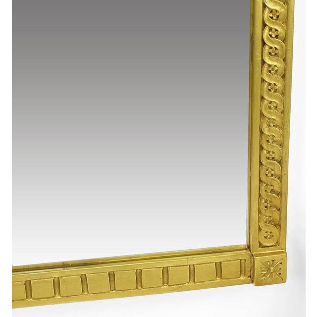 Early 20th Century Italian Giltwood Phoenix Wall Mounted Console and Mirror For Sale - Image 9 of 11