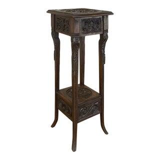 19th Century Antique Renaissance Pedestal For Sale