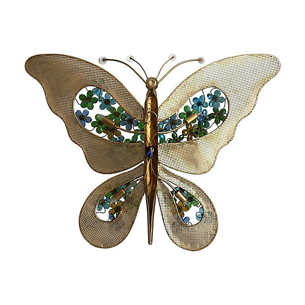 1950s Italian Butterfly Wall Light For Sale - Image 11 of 12