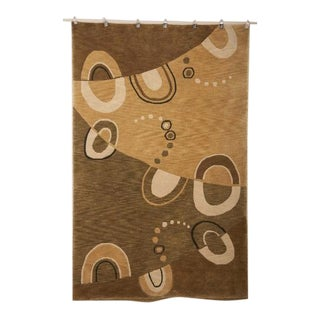 Contemporary Hand Knotted Wool Carpet For Sale
