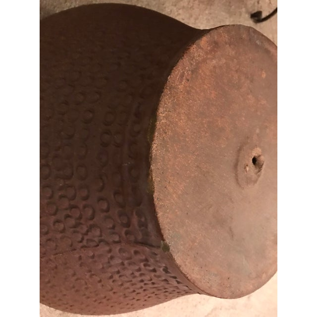 Brown Mid Century Modern Large David Cressey Cheerio Vessel Architectural Pottery For Sale - Image 8 of 13