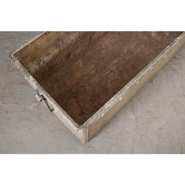 19th Century English 19th Century Zinc Trough For Sale - Image 5 of 11