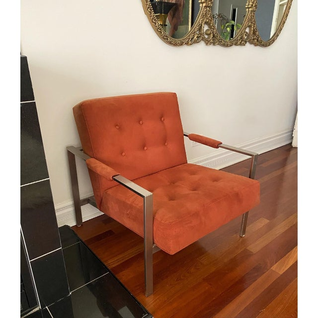 Mid-Century Modern Milo Baughman for Thayer Coggin the 1937 Armchair For Sale - Image 3 of 9