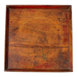 Antique Chinese Wood Tray