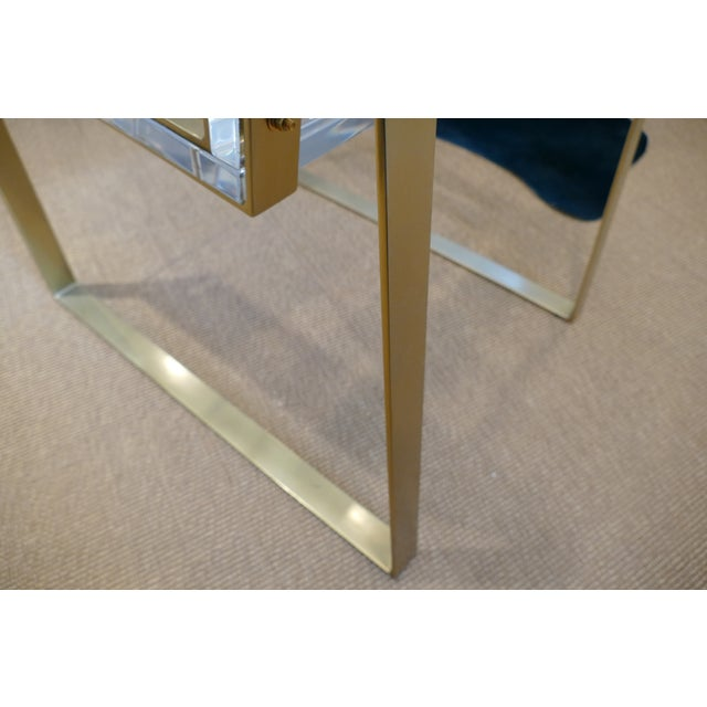 Century Lucite & Brass Halo Chair For Sale - Image 10 of 12