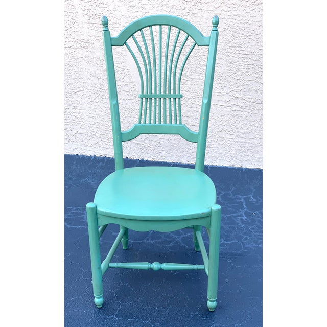 Nichols & Stone 1990s Vintage Nichols & Stone French Country Dinning Chairs- Set of 8 For Sale - Image 4 of 12
