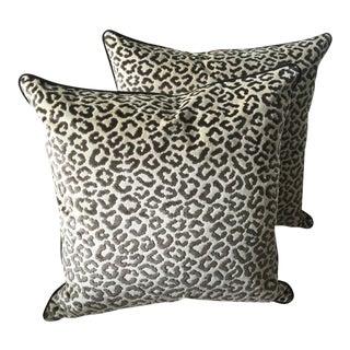 Lee Jofa High End Velvet Pillows - Set of 2 For Sale
