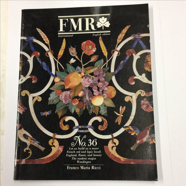 FMR Magazine - Franco Maria Ricci English Edition, January / February 1989 Issue No 36 Oversized richly illustrated and...