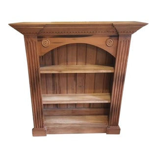 Vintage Cypress Bookcase Shelving For Sale