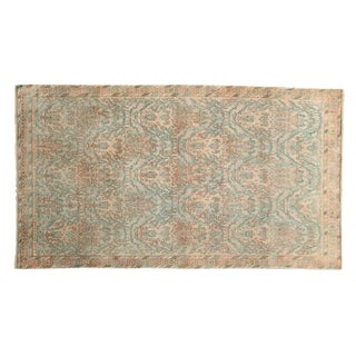 """Vintage Distressed Borchalou Rug - 2'10"""" X 5'1"""" For Sale"""