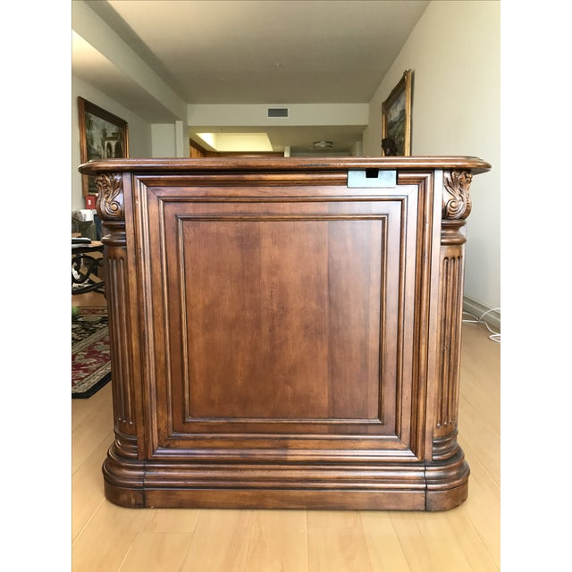 Villa Florence Executive Computer Desk by Hooker Furniture For Sale - Image 5 of 7