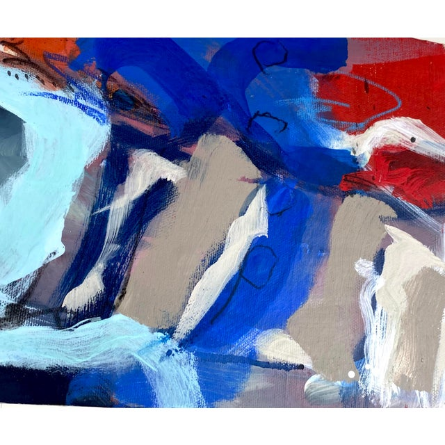 """Around the World and Back"" by Gina Cochran Original Abstract Painting For Sale - Image 12 of 13"