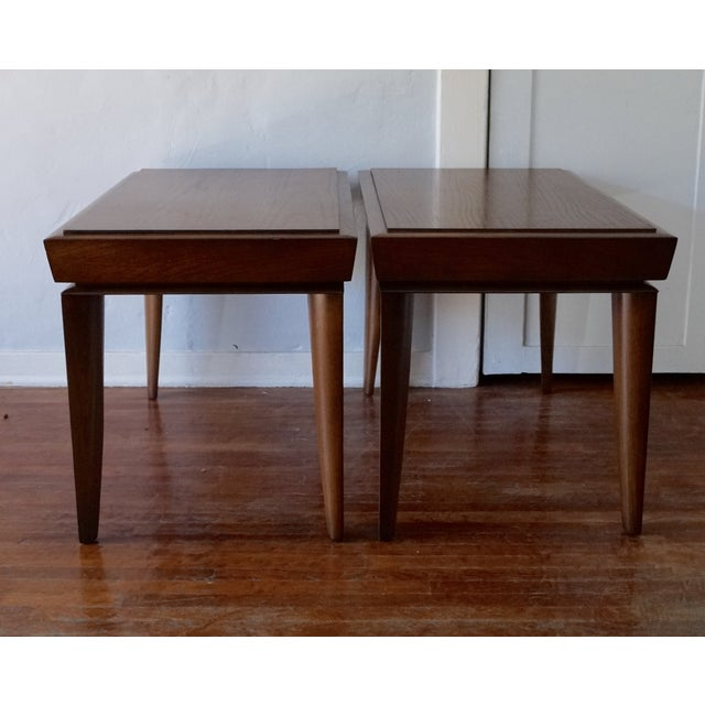 Mid-Century Designer Paul Lazlo End Tables - Pair - Image 3 of 7