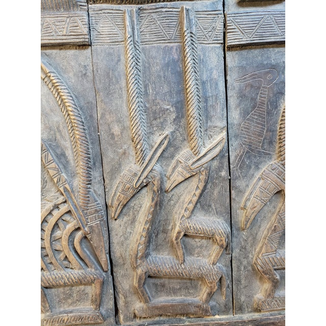Early 20th Century Antique Tribal Senufo Door For Sale In Philadelphia - Image 6 of 7