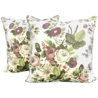 1980s Colefax and Fowler Pillows, Property of Grey Gardens - a Pair For Sale