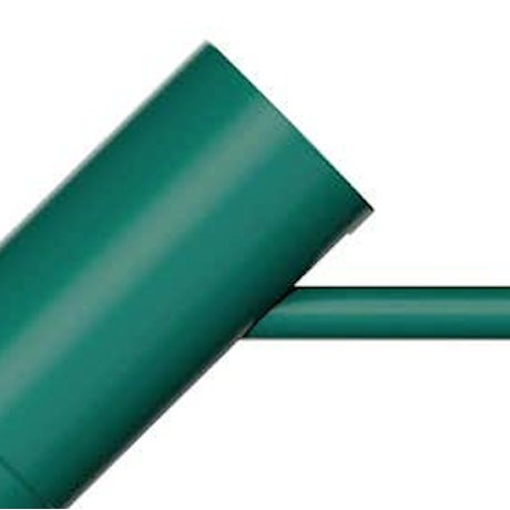 Louis Poulsen Arne Jacobsen AJ Wall Light for Louis Poulsen in Dark Green For Sale - Image 4 of 6