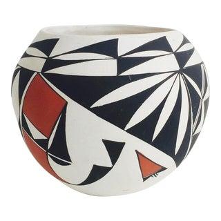 Vintage Acoma Pottery Cache Pot