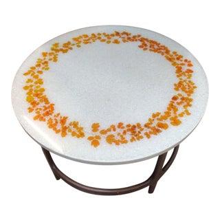 1970s Mid-Century Modern Ron Barnette Side Table For Sale