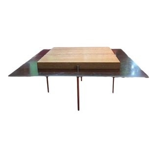 1990s Vintage Contemporary Morlen Sinoway Cocktail Table For Sale