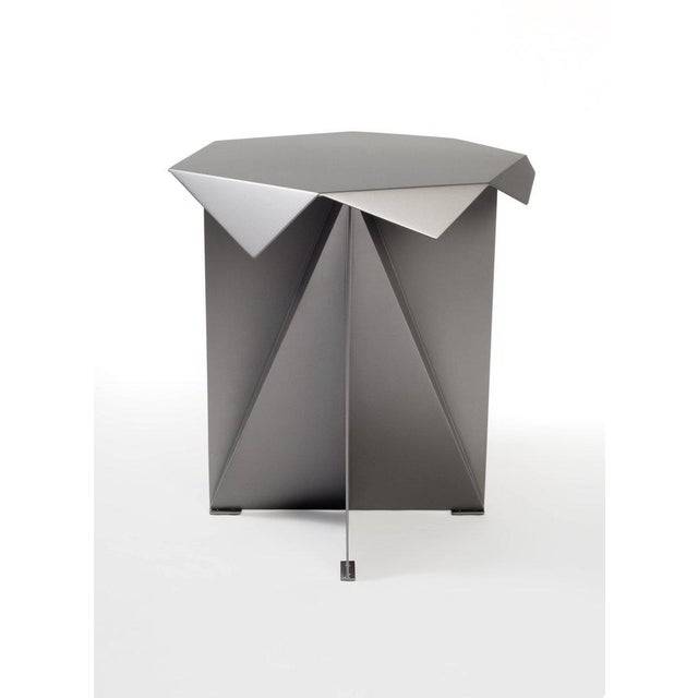 2010s One of Two Dart Side Tables by Harry Clark For Sale - Image 5 of 5