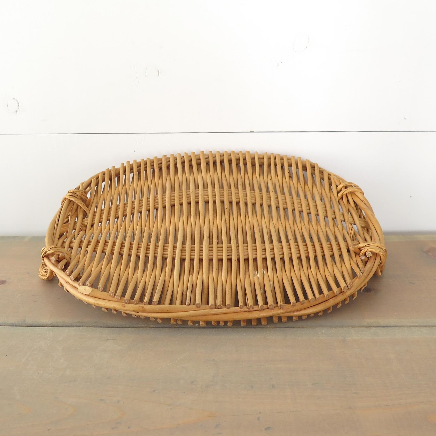 Good Oval Rattan Tray   Image 7 Of 7