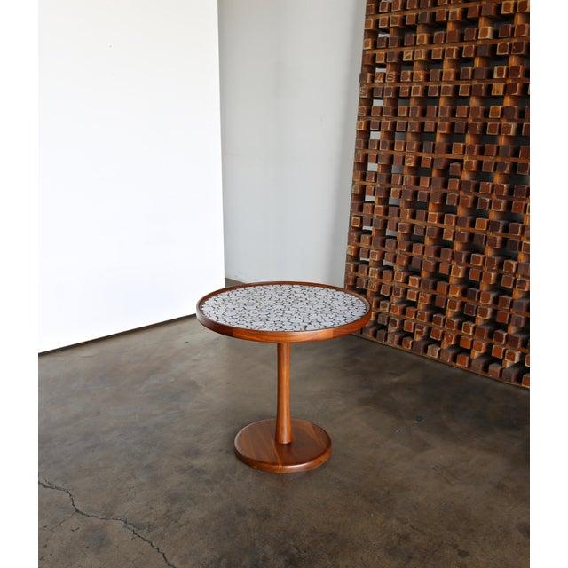Gordon Martz Ceramic Tile-Top Occasional Table, Circa 1960 For Sale - Image 11 of 11
