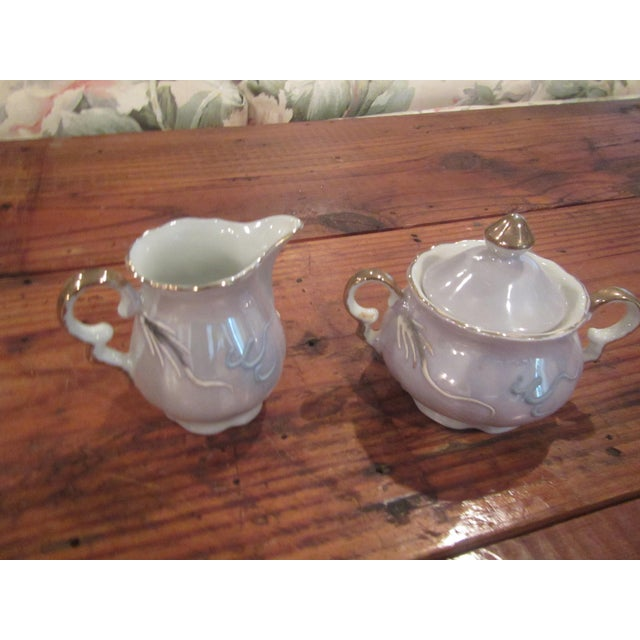 Vintage Honeymoon Niagra Falls Cream & Sugar Set - A Pair For Sale - Image 11 of 11