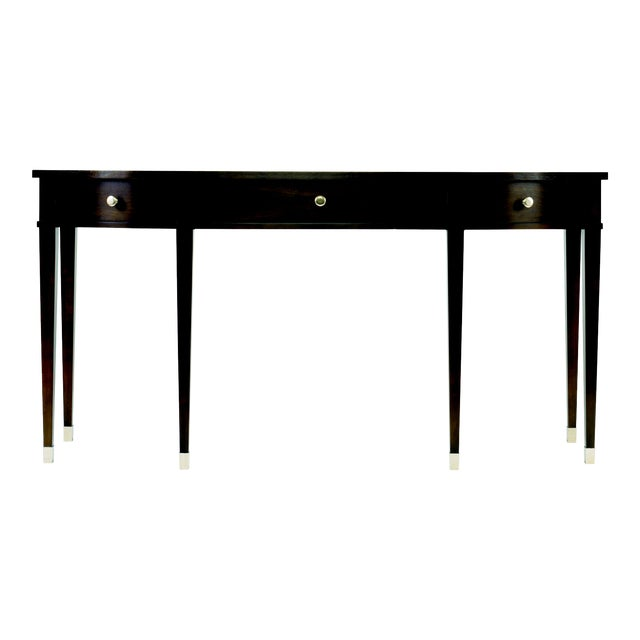 Century Furniture Tribeca Three Drawer Console For Sale
